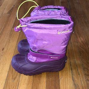 Girls Columbia snow boot